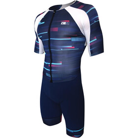 Z3R0D Racer Time Trial Trisuit Men revolution blue